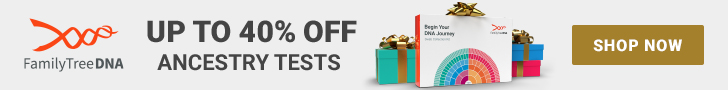 FamilyTreeDNA Holiday Sale